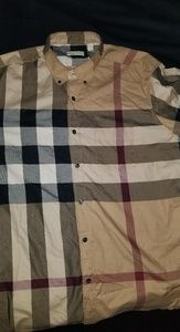 Burberry nova exploded check xxl mens long sleeve